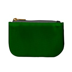 Dark Plain Green Mini Coin Purses by Jojostore
