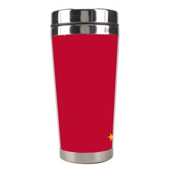 Alaska Star Red Yellow Stainless Steel Travel Tumblers by Jojostore