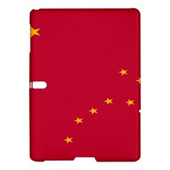Alaska Star Red Yellow Samsung Galaxy Tab S (10 5 ) Hardshell Case  by Jojostore