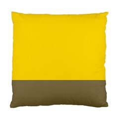 Trolley Yellow Brown Tropical Standard Cushion Case (one Side) by Jojostore