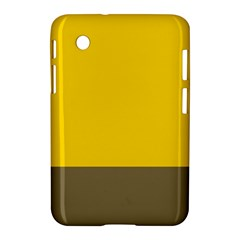 Trolley Yellow Brown Tropical Samsung Galaxy Tab 2 (7 ) P3100 Hardshell Case  by Jojostore