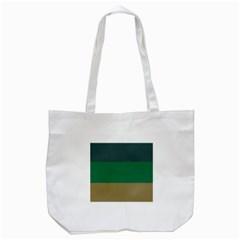 Blue Green Brown Tote Bag (white) by Jojostore