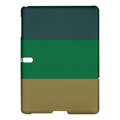 Blue Green Brown Samsung Galaxy Tab S (10 5 ) Hardshell Case  by Jojostore