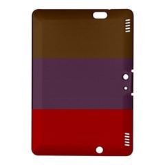 Brown Purple Red Kindle Fire Hdx 8 9  Hardshell Case by Jojostore