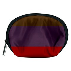 Brown Purple Red Accessory Pouches (medium)  by Jojostore