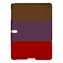 Brown Purple Red Samsung Galaxy Tab S (10 5 ) Hardshell Case  by Jojostore