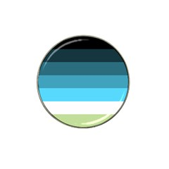 Line Color Black Green Blue White Hat Clip Ball Marker (10 Pack) by Jojostore