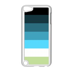 Line Color Black Green Blue White Apple Ipod Touch 5 Case (white) by Jojostore