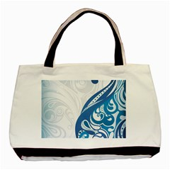 Delicate Tree Leaf Basic Tote Bag by Jojostore
