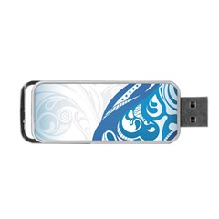 Delicate Tree Leaf Portable Usb Flash (two Sides) by Jojostore
