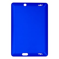Plain Blue Amazon Kindle Fire Hd (2013) Hardshell Case by Jojostore