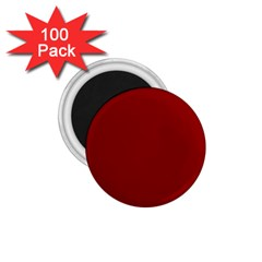 Plain Blue Red 1 75  Magnets (100 Pack)  by Jojostore