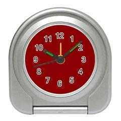 Plain Blue Red Travel Alarm Clocks by Jojostore