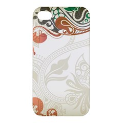 Flower Floral Tree Leaf Apple Iphone 4/4s Hardshell Case by Jojostore
