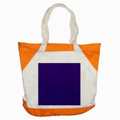 Plain Violet Purple Accent Tote Bag by Jojostore
