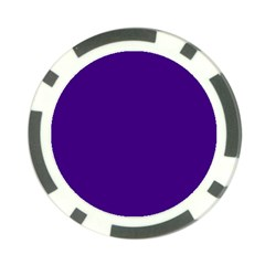 Plain Violet Purple Poker Chip Card Guard (10 Pack) by Jojostore