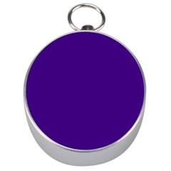 Plain Violet Purple Silver Compasses by Jojostore