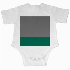 Trolley Grey Green Tropical Infant Creepers by Jojostore