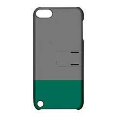Trolley Grey Green Tropical Apple Ipod Touch 5 Hardshell Case With Stand by Jojostore