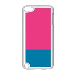 Trolley Pink Blue Tropical Apple Ipod Touch 5 Case (white) by Jojostore