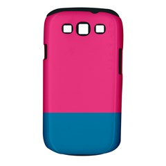 Trolley Pink Blue Tropical Samsung Galaxy S Iii Classic Hardshell Case (pc+silicone) by Jojostore