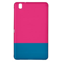 Trolley Pink Blue Tropical Samsung Galaxy Tab Pro 8 4 Hardshell Case by Jojostore