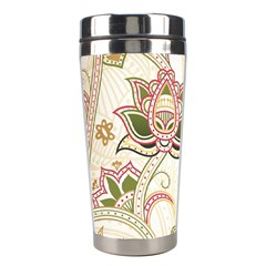 Floral Flower Star Leaf Gold Stainless Steel Travel Tumblers by Jojostore