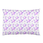 Pink and Lilac Stars Pillow Case (Two Sides)
