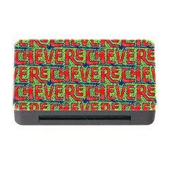Typographic Graffiti Pattern Memory Card Reader With Cf by dflcprints