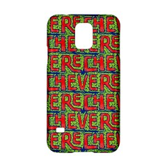 Typographic Graffiti Pattern Samsung Galaxy S5 Hardshell Case  by dflcprints