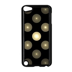 Gray Balls On Black Background Apple Ipod Touch 5 Case (black) by Nexatart