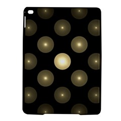 Gray Balls On Black Background Ipad Air 2 Hardshell Cases