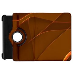 Brown Background Waves Abstract Brown Ribbon Swirling Shapes Kindle Fire Hd 7