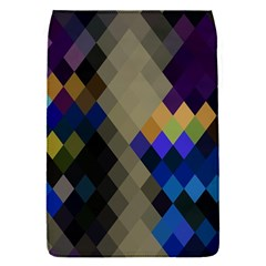 Background Of Blue Gold Brown Tan Purple Diamonds Flap Covers (s)  by Nexatart