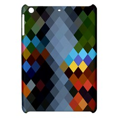 Diamond Abstract Background Background Of Diamonds In Colors Of Orange Yellow Green Blue And More Apple Ipad Mini Hardshell Case by Nexatart