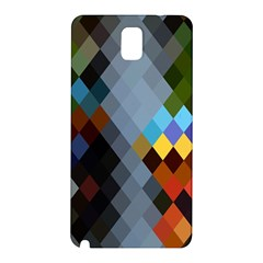Diamond Abstract Background Background Of Diamonds In Colors Of Orange Yellow Green Blue And More Samsung Galaxy Note 3 N9005 Hardshell Back Case