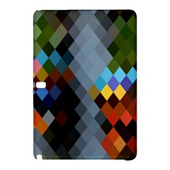 Diamond Abstract Background Background Of Diamonds In Colors Of Orange Yellow Green Blue And More Samsung Galaxy Tab Pro 10 1 Hardshell Case