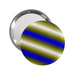 Color Diagonal Gradient Stripes 2 25  Handbag Mirrors by Nexatart