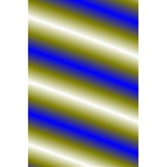 Color Diagonal Gradient Stripes 5 5  X 8 5  Notebooks by Nexatart