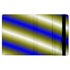 Color Diagonal Gradient Stripes Apple Ipad 3/4 Flip Case by Nexatart