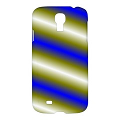 Color Diagonal Gradient Stripes Samsung Galaxy S4 I9500/i9505 Hardshell Case by Nexatart