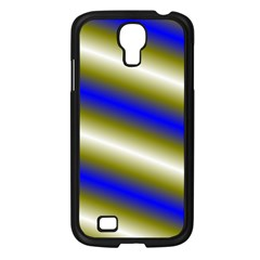 Color Diagonal Gradient Stripes Samsung Galaxy S4 I9500/ I9505 Case (black) by Nexatart