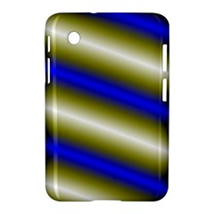 Color Diagonal Gradient Stripes Samsung Galaxy Tab 2 (7 ) P3100 Hardshell Case  by Nexatart