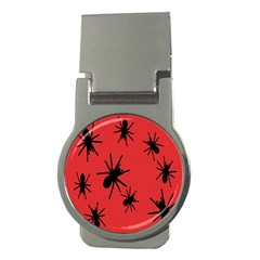 Illustration With Spiders Money Clips (round)