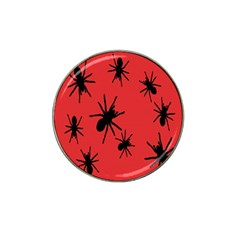 Illustration With Spiders Hat Clip Ball Marker (4 pack) by Nexatart
