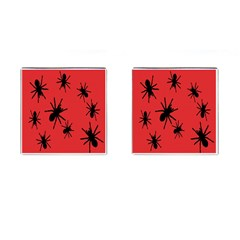 Illustration With Spiders Cufflinks (square) by Nexatart