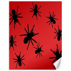 Illustration With Spiders Canvas 12  X 16   by Nexatart