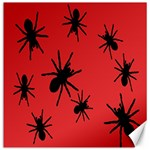 Illustration With Spiders Canvas 16  x 16   16 x16 Canvas - 1