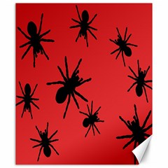 Illustration With Spiders Canvas 20  X 24   by Nexatart