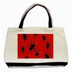 Illustration With Spiders Basic Tote Bag (two Sides)